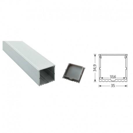 Profilés LED Aluminium double