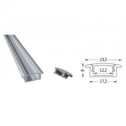 Profilés LED Aluminium carré