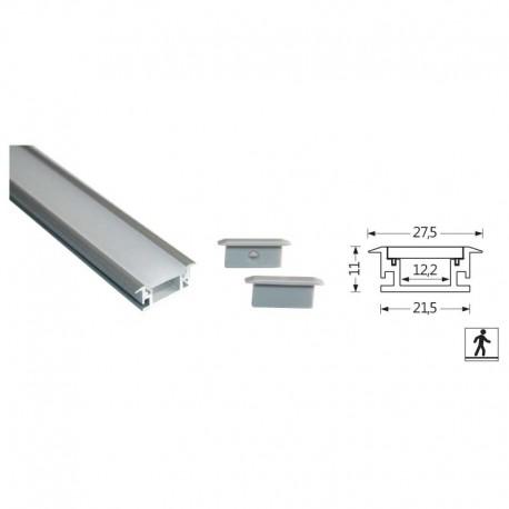 Profilés LED Aluminium encastré