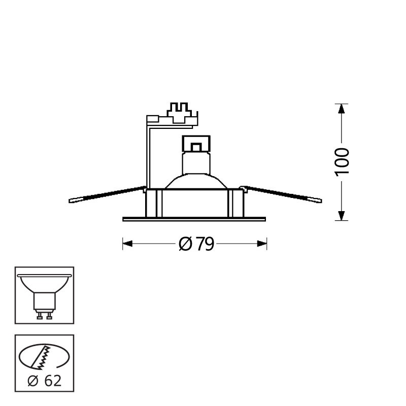 basic fixe lampe 12v